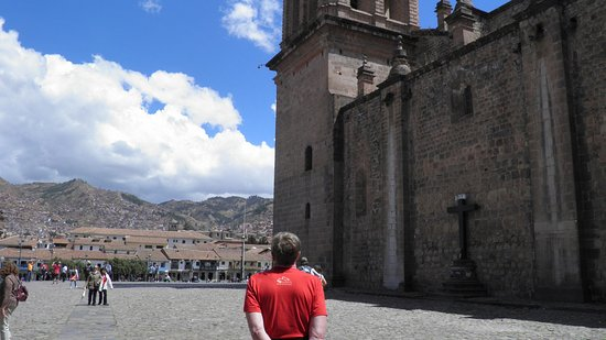 Cusco Cathedral: on the side of the catedral