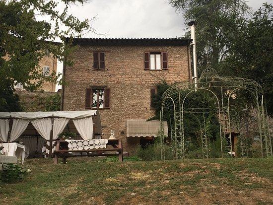 Casa della Tintoria: In the garden