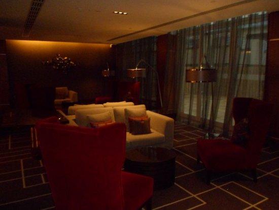 Sheraton Grand Hotel & Spa, Edinburgh: VIP lounge area