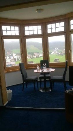 Hotel Davos Inn: alcove