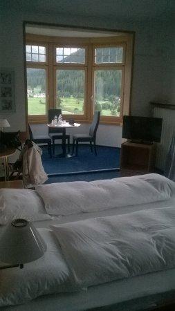 Hotel Davos Inn: grande chambre