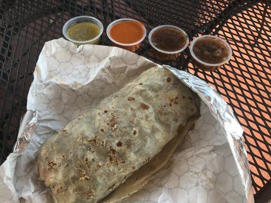 Brassas Mexican Grill: Carne Asada Burrito