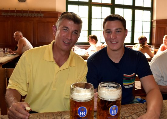 Hofbrauhaus: A father-son bonding experience