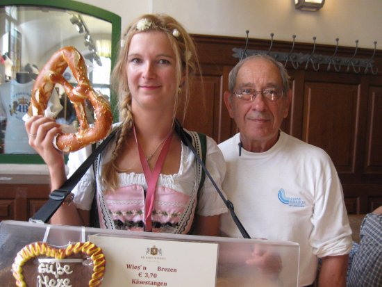 """Hofbrauhaus: Its as much about the """"Pretzel Girl"""" as it is about the Pretzel!"""