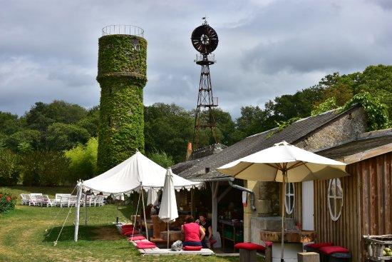 Chateau de la Bourdaisiere: The Tomato Bar