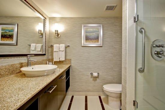 Fairfield Inn & Suites by Marriott - Guelph: King Room Bathroom