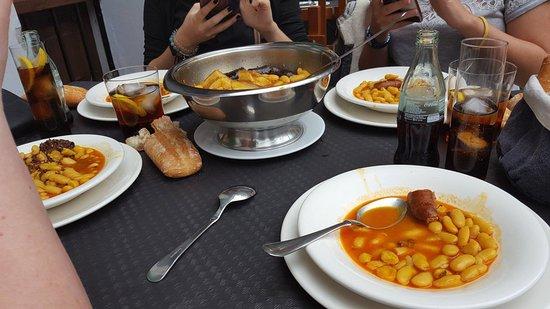 Restaurant El Repelao: Fabada asturiana (4 personas)