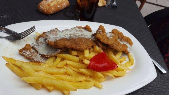 Restaurant El Repelao: Escalope al cabrales (ración individual)
