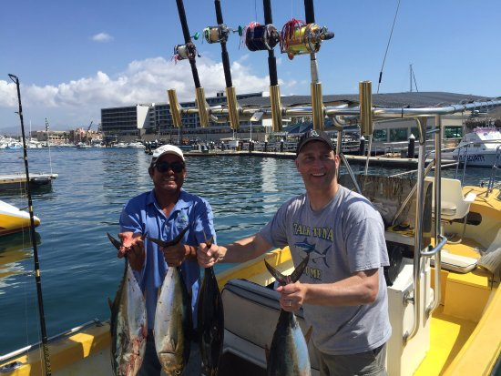 Sushi Time Sport Fishing: 6 Yellow Fin, 4 Mahi Mahi , 1 Bonita