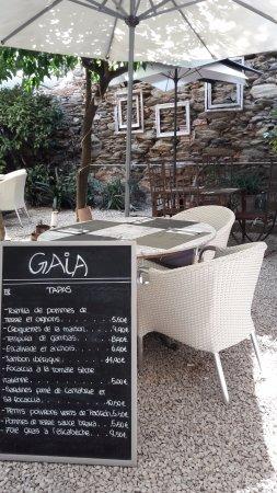 Gaia: une partie du patio