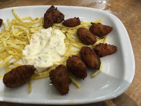 La Mejillonera: Nous avons très très bien dîner. Les prix sont plus que corrects. Les prix affichés sont pour un