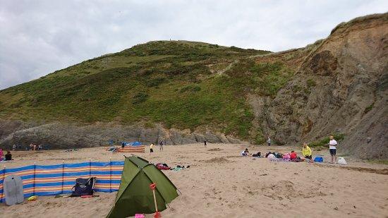 Mwnt Beach Photo