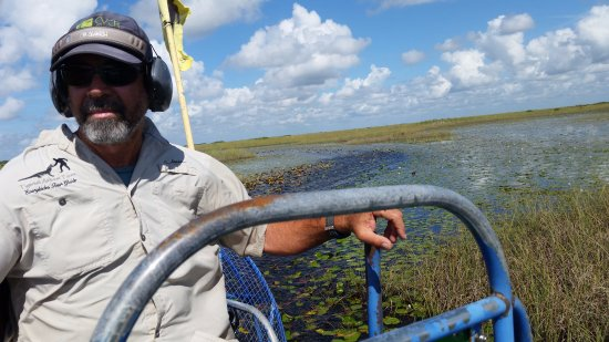 Tigertail Airboat Tours: Kenny...our guide