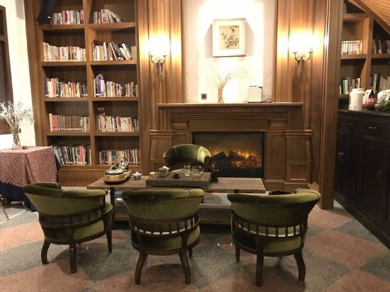 Silver Chest Boutique Hotel: Biblioteca