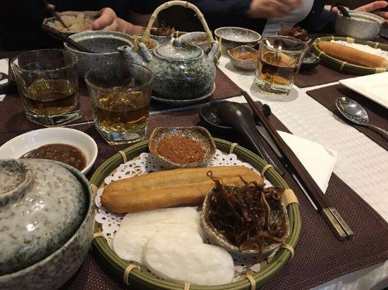 Silver Chest Boutique Hotel: colazione dello Yunnan