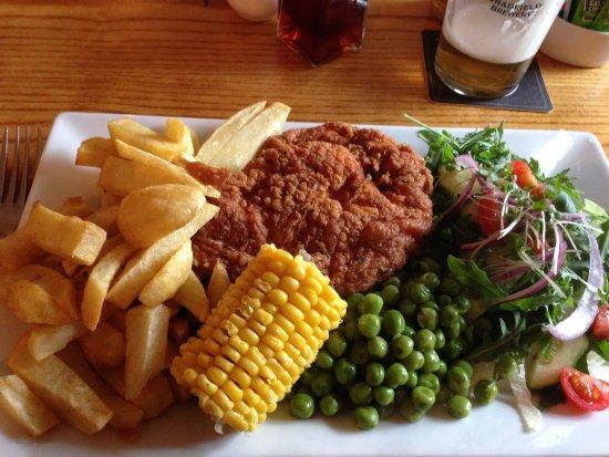 The Cock Inn: Chicken pan fried £8.75