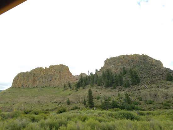 Elk Mountain Ranch: Driving through the National Park to get to EMR