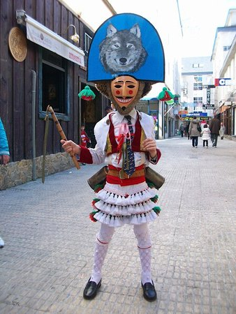 Verin, Spain: Máscara de Verín