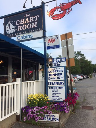 Chart Room: Front of restaurant,