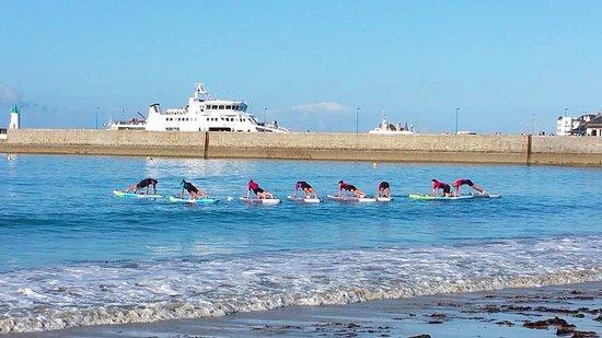 Club de Plage l'Albatros: Albatros Club de Plage - Paddle fitness