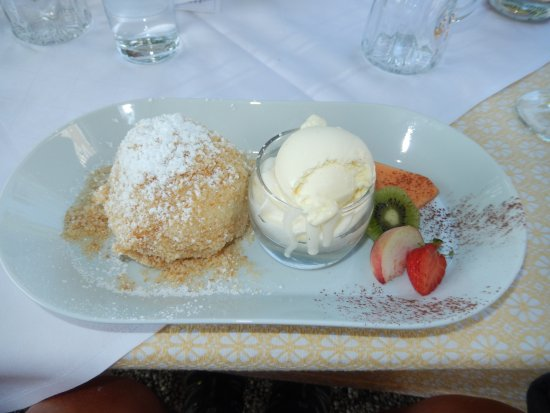 "Hotel Gasthof Maria Plain: ""Marillenknodel"", Austrian Apricot Dumpling"