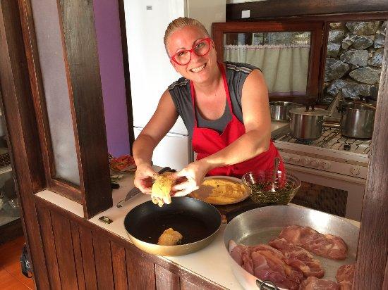 Marina in Cucina in Positano