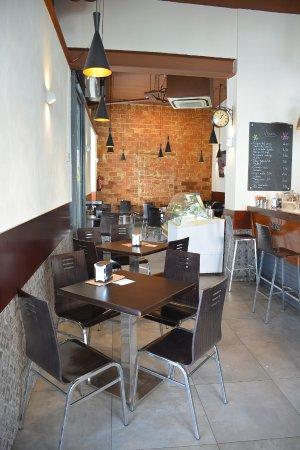 Cafe De Abastos: Interior