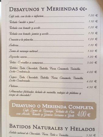 Cafe De Abastos: Desayunos y Meriendas