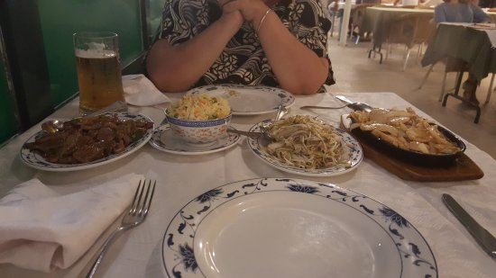 RESTRAURANTE CHINES HAPPY TALK : Good Food