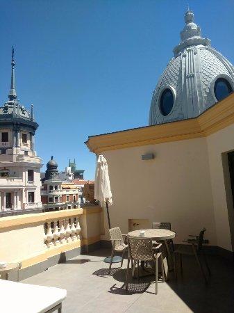 Madrid, Spain: Terraza Hotel Sardinero
