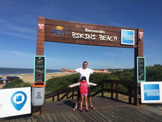 Manantiales, Uruguay: Con mi hija en un dia maravilloso de pleno sol.