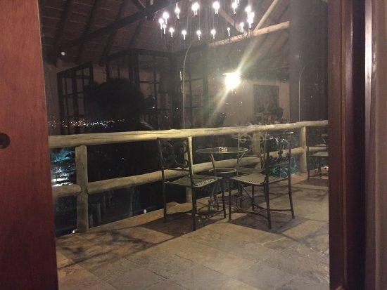 Pululukwa Resort: Vista Restaurante