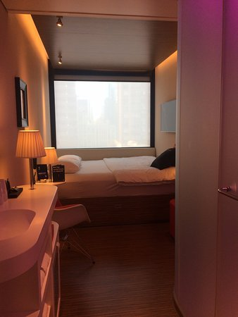 citizenM New York Times Square: Bedroom