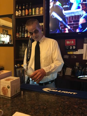 Elkin, NC: Dead Bartender at halloween party