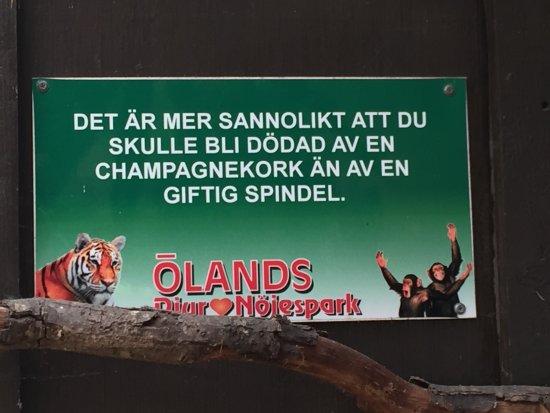 Olands Djur & Nojespark: Ölands Djurpark.