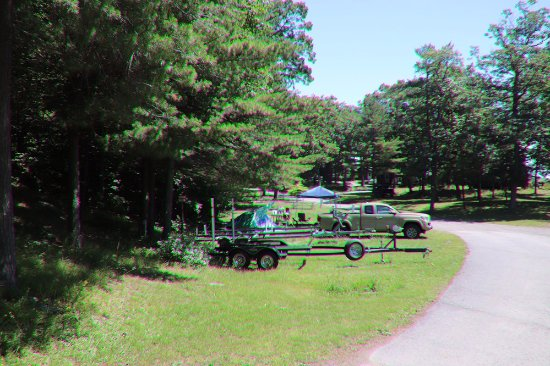 DeWolf Point State Park: To tow boats