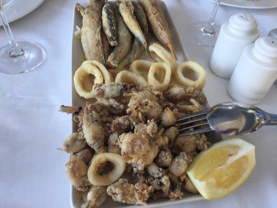 Miramar La Ribera: Fritura pescado