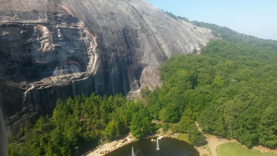 Stone Mountain Carving: From tram.