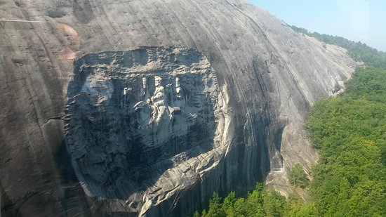 Stone Mountain Carving: Again...Awesome.
