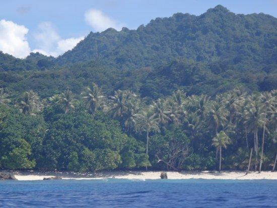 Ilha de Kosrae, Micronésia. Somente minha esposa e eu como turistas no momento que fomos. Paraís