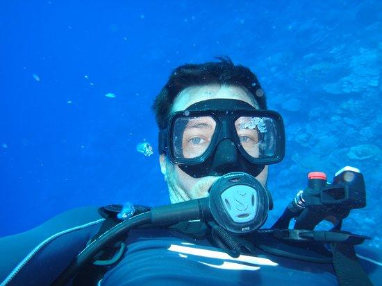 mergulho em Kosrae, Micronésia