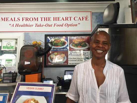 Meals From The Heart Cafe: Had a meal in this place, loved everything
