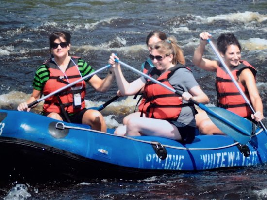 Pocono Whitewater: we literally had THE BEST time.