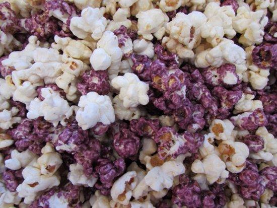 Poky Popcorn Shop: Huckleberry Cheesecake... best seller!