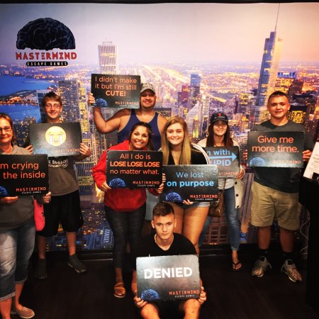 Mastermind Escape Room
