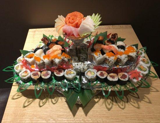 Nikkou: Tarta de sushi