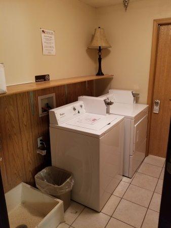 Vermillion, Dakota del Sud: Guest Laundry