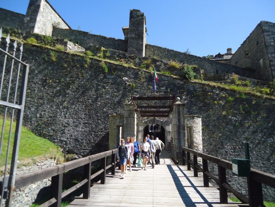 Forte di Fenestrelle: Ponte