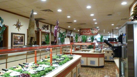 Casa Grande, Αριζόνα: A great buffet