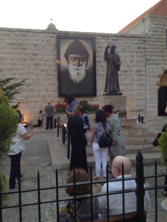 Byblos, Lebanon: Tomb of St. Charbel